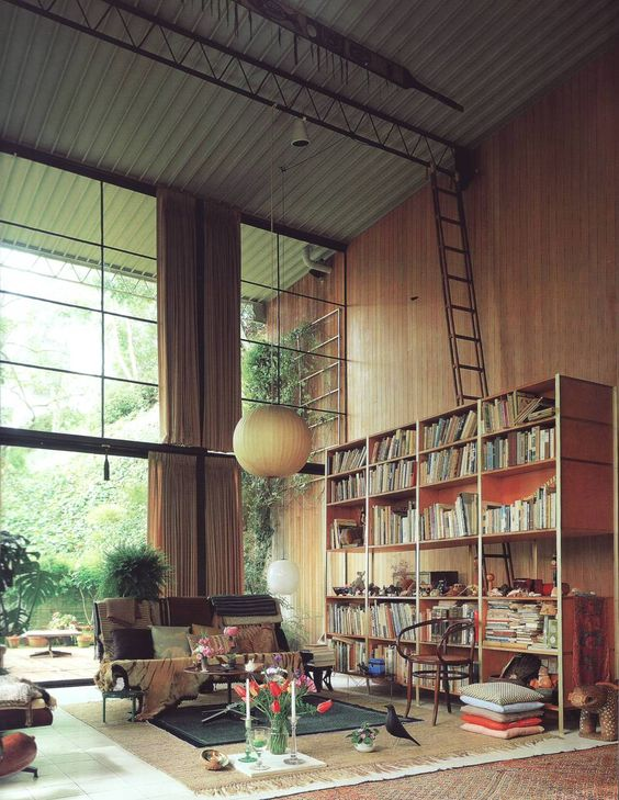 eames-house-interior