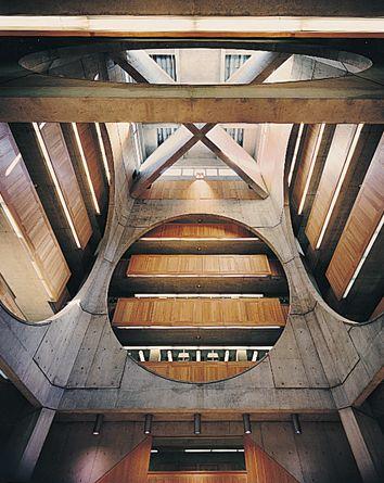 kahn-library-interior